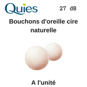 Tapones de cera natural Quies