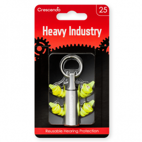 Tapones antirruido Crescendo Heavy Industry